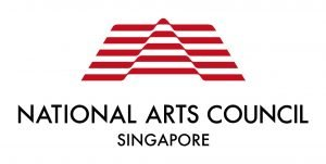 National Arts Council logo. Red logo with the words National Arts Council at the bottom